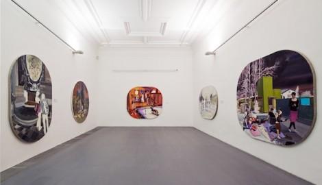 Pohled do výstavy Jakuba Tomáše v Domě U Zlatého prstenu, foto Tomáš Souček, 2011 (1)