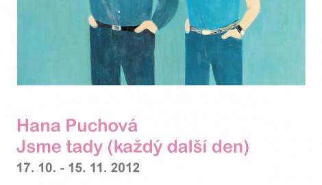 Pozvánka Hana Puchová v Galerii Petr Novotný