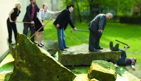 Fr. Lozinski, Slepý vede slepé, 2012, web