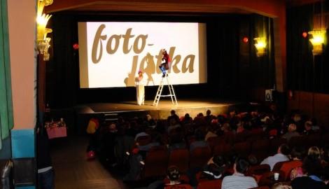 Rozhovor s Cecylíi Malik na pražských Fotojatkách v kině Aero