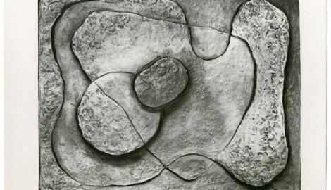 Nefigurativní reliéf / kolem 1936 / foto, nezvěstné