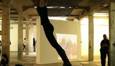 Karíma Al-Mukhtarová: Feel the Jump, performance / 2011 / Karlin Studios, Praha