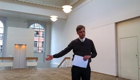 Jacob Fabricius, ředitel Kunsthal Charlottenborg