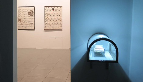 Jiri David,  exhibition in Leguern Gallery,Warsaw,March 2014 (5) kopie