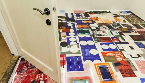 Pohled do instalace výstavy v galerii Krokus