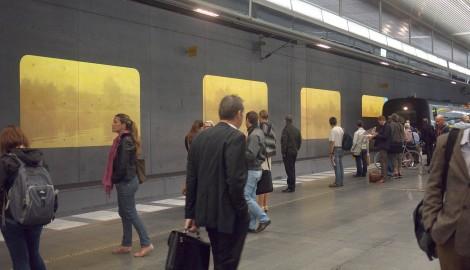 Tania Ruiz Gutierez: Elsewhere / Hlavní nádraží, Malmö / 2010