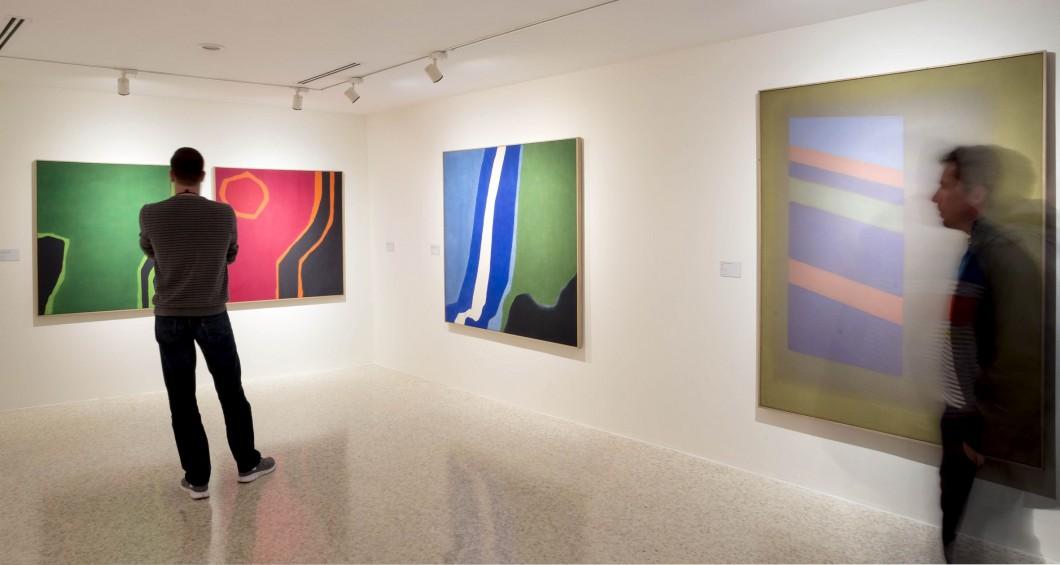 Foto z výstavy Charles Pollock: A Retrospective / Peggy Guggenheim Collection / Benátky / foto: Ph. Matteo De Fina