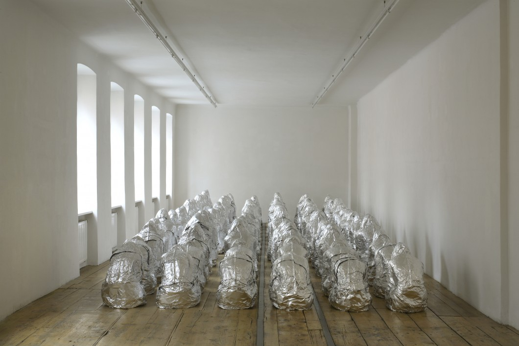 Kader Attia: Ghost / 2007 / Image courtesy of the Saatchi Gallery, London / foto: Kader Attia, 2007