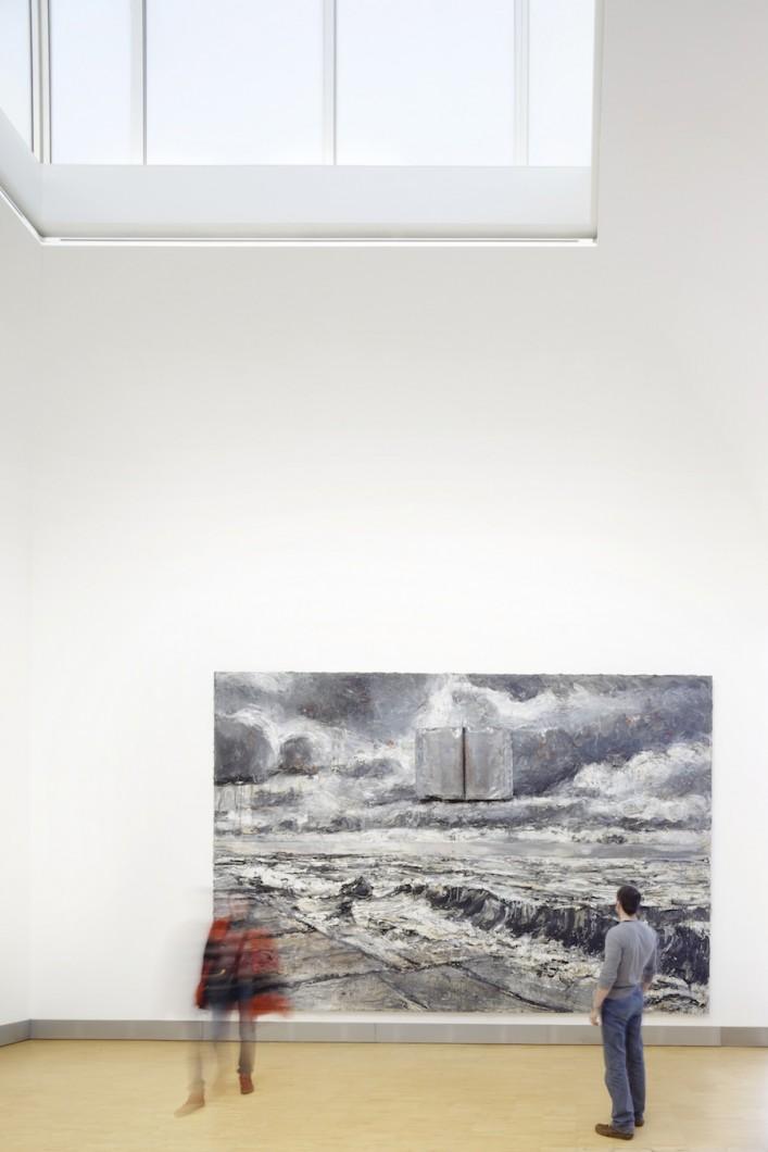 Essl Museum / Galerie 2 / 2012 / Pohled do výstavy ANSELM KIEFER: Práce ze sbírky  Essl / © Foto: Helmut Karl Lackner, Wien