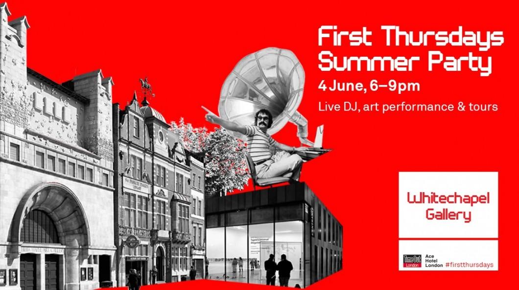 WhitechapelGallery First Thursdays1