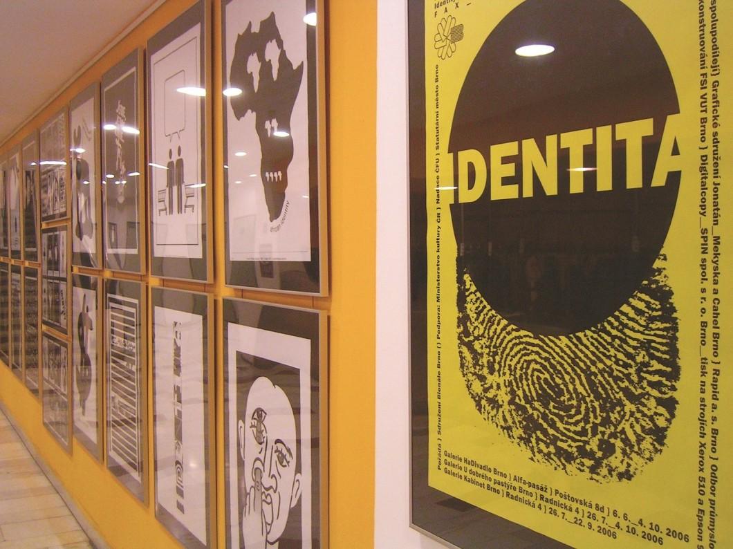 Výstava plakátu SBB v brněnském HaDivadle, 2006