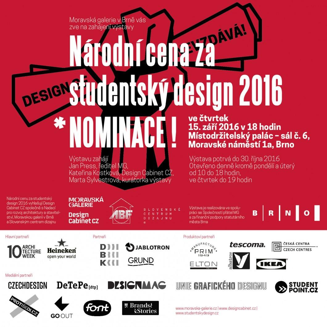 bf91efffb1e V Místodržitelském paláci proběhne výstava nominovaných studentů na  prestižní ocenění za design