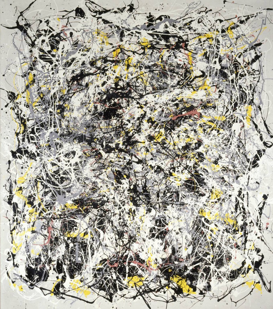 Portrait of V.I. Lenin with Cap, in the Style of Jackson Pollock III 1980 Art & Language (Michael Baldwin; Mel Ramsden) born 1945, born 1944 Presented by Tate Members 2007 http://www.tate.org.uk/art/work/T12406