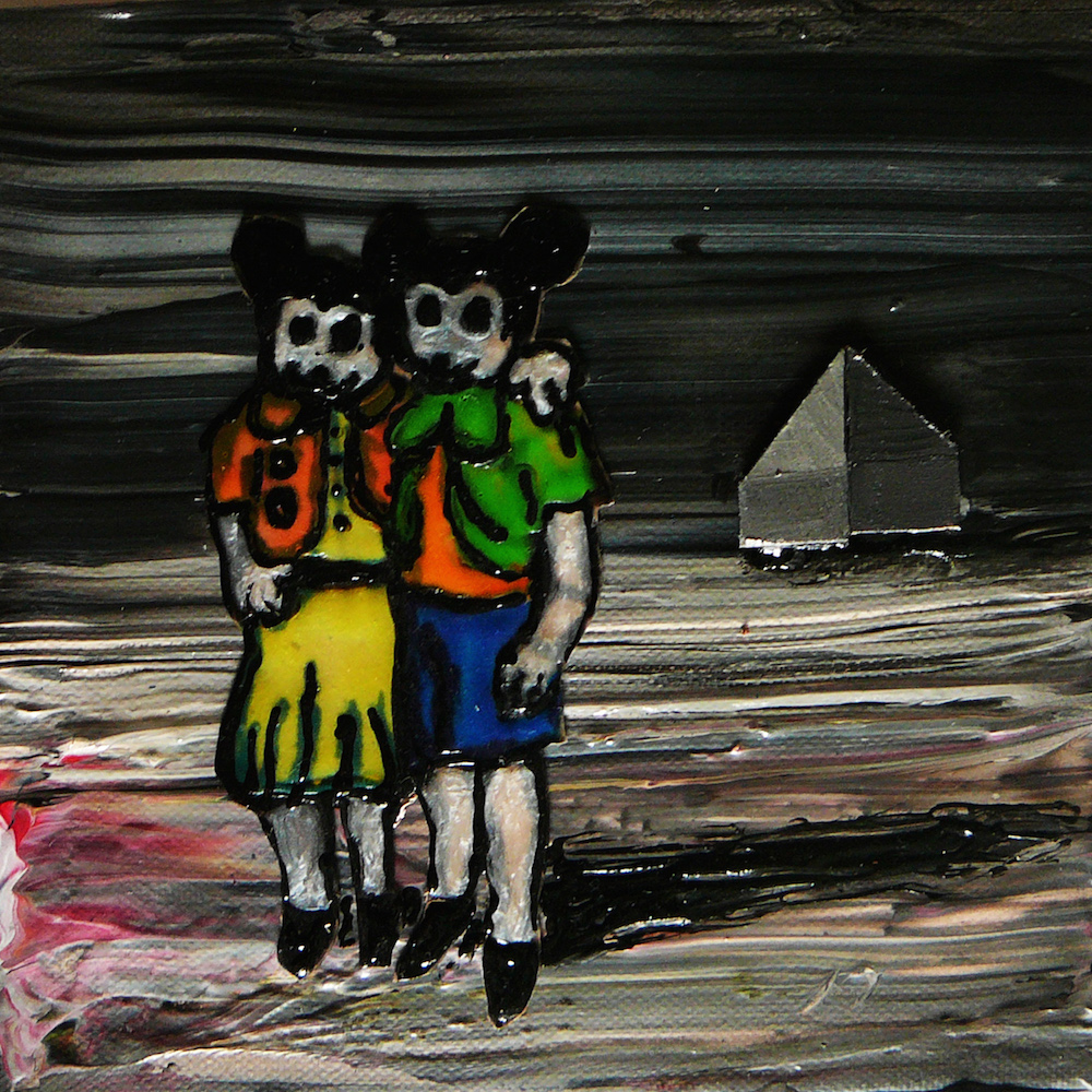 mickey-and-millie-20x20cm-mixed-media-on-canvas-2015-kopie