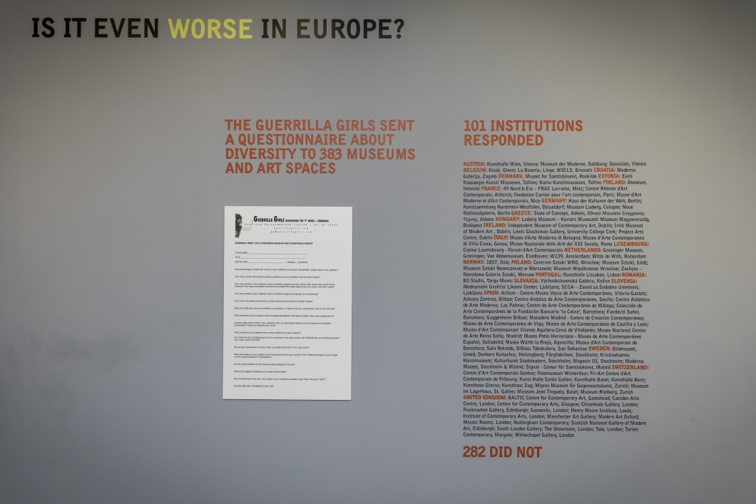 Guerrilla Girls Is it even worse in Europe. Dan Weill 1 (3)