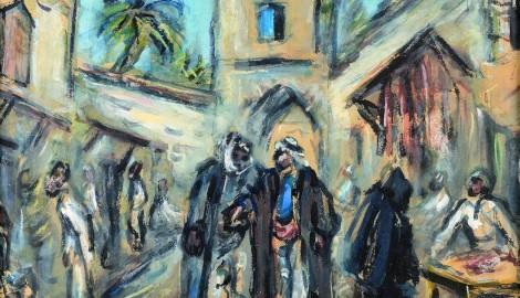 s. 107_Bazar v Jeruzalemu (Soukroma sbirka)
