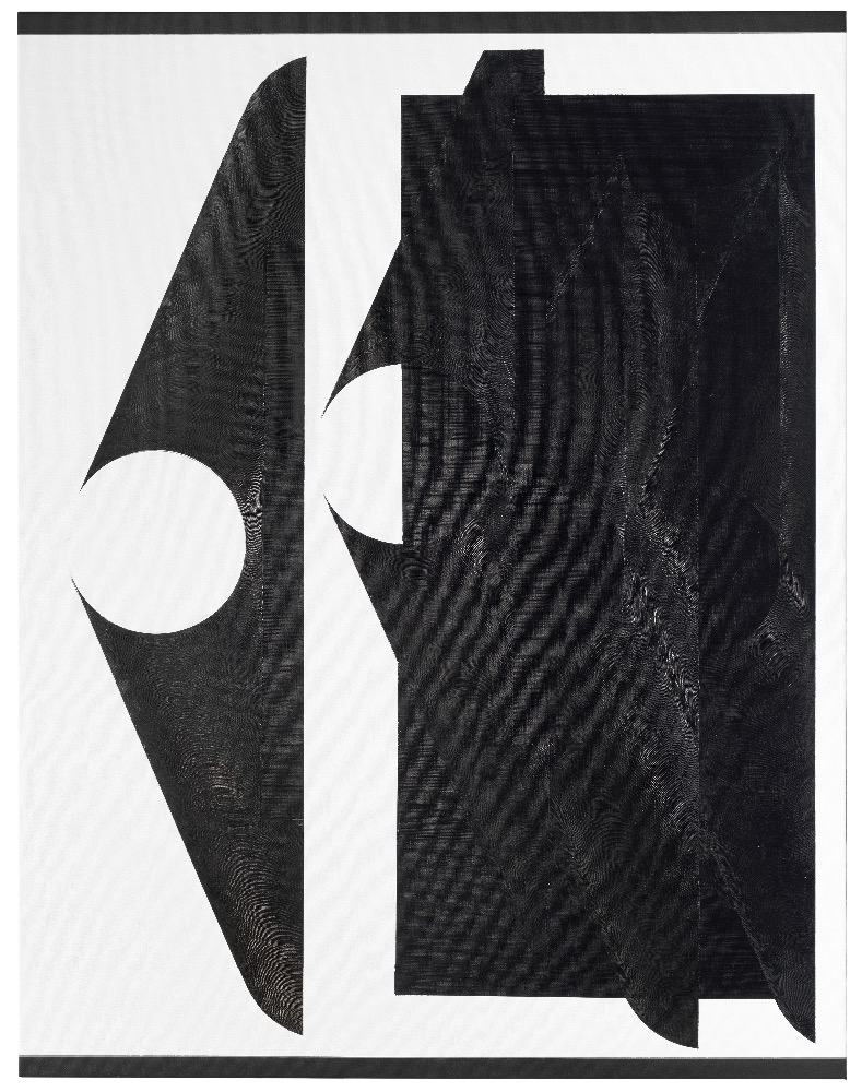 Shift- Command-4. , III, 180x140cm, akryl, olej na platne,2017
