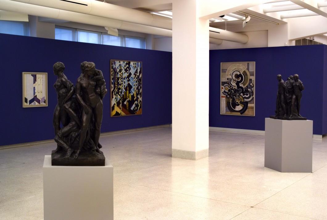 Pohled do současné expozice Sbírky moderního umění ve Veletržním paláci, foto: archiv NG