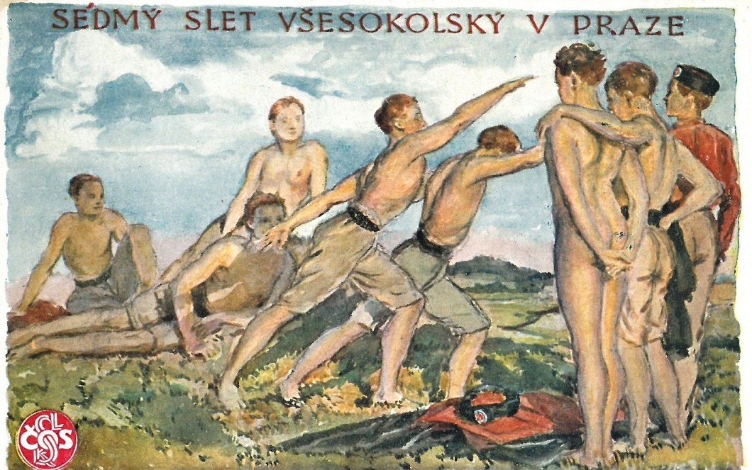 J.T.Blažek pro VII. slet 1920