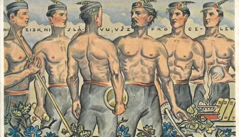 M.Benka po IX. slet 1932
