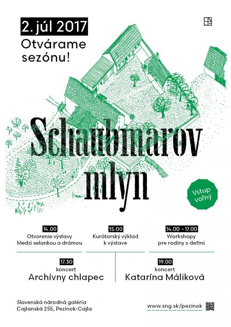 Pozvanie_Otvorenie sezony_Schaubmarov mlyn