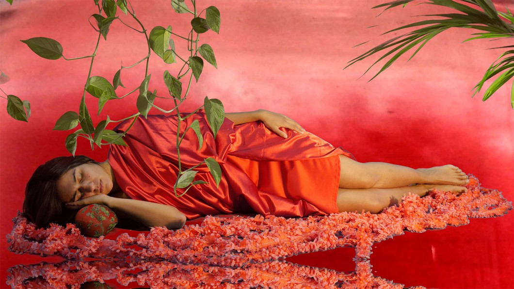 11_Sylbee Kim, The Red Liquid and Narcissus, Installation View, Nevan Contempo, 2017