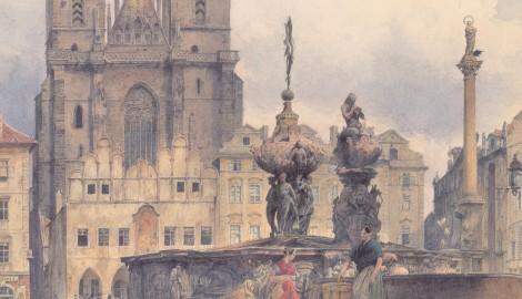 Rudolf_von_Alt_-_Die_Teynkirche_in_Prag_-_1843 copy