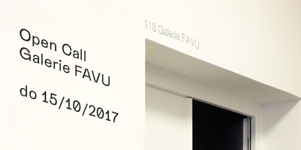 Open Call Galerie FAVU