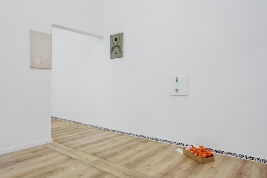 Jiri David, pohled do instalace, 2017 (2)