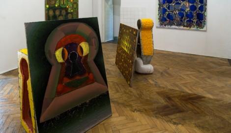 Pavla Malinová, Keyhole, Labyrinth of the soul, 2017,exhibition view, Szara Gallery, Katowice