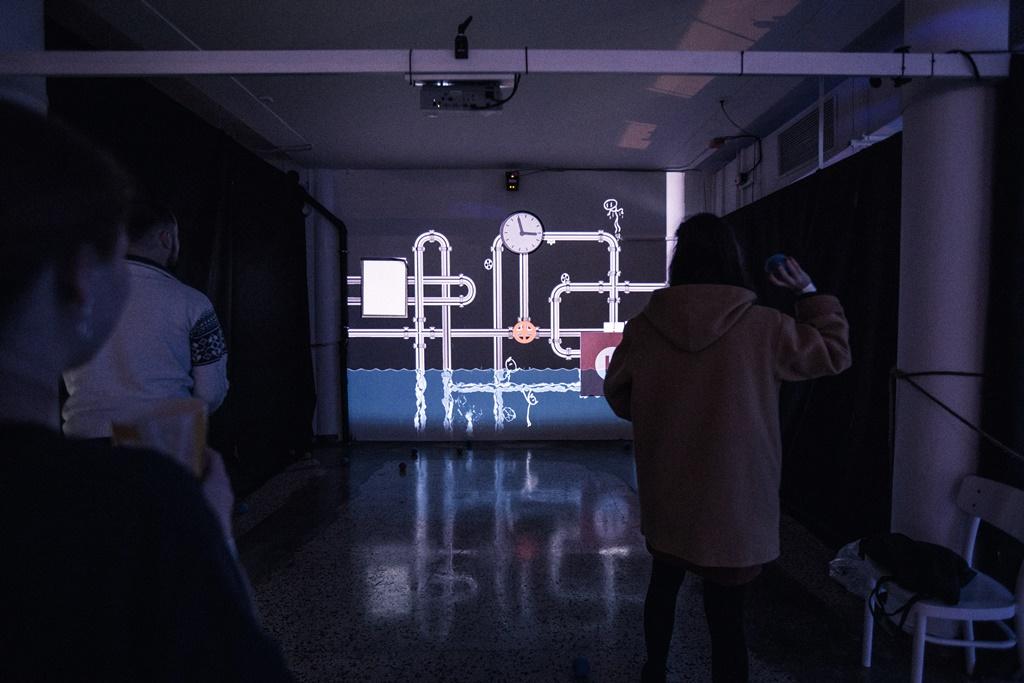 INITI - digital playgroundz, foto Daniel Peprn+şk