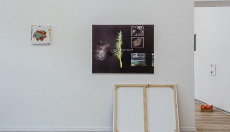 Jiri David, pohled do instalace, 2017