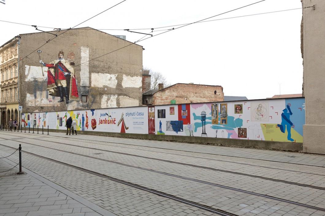 2017.10.23 - Instalace Jankovič Josef - Plynutí času, ohrada